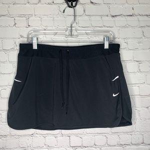 Nike Dri FIt Black Skort